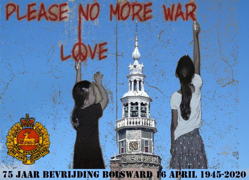 75 jaar bevrijding Bolsward is gecanceld
